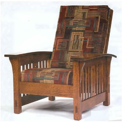 stickley morris chair plans